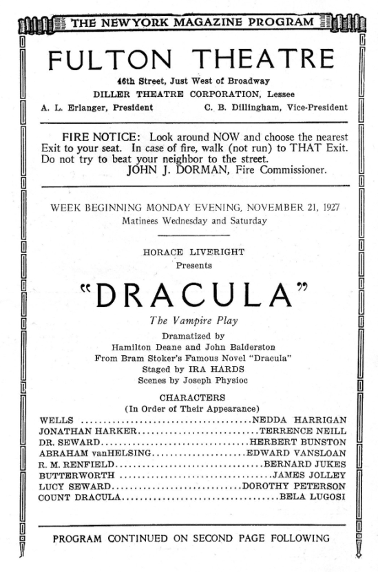 Programme for the week beginning November 21, 1927 3