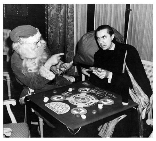 Santa Vs. Dracula The American International Toy Fair, New York, 1940