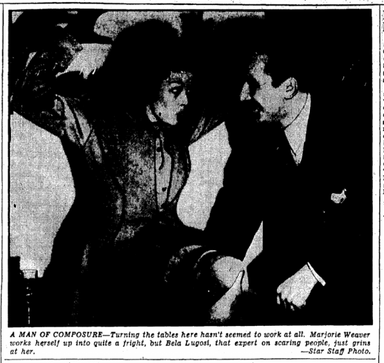 Stardust Cavalcade, Evening Star, April 26, 1940 2
