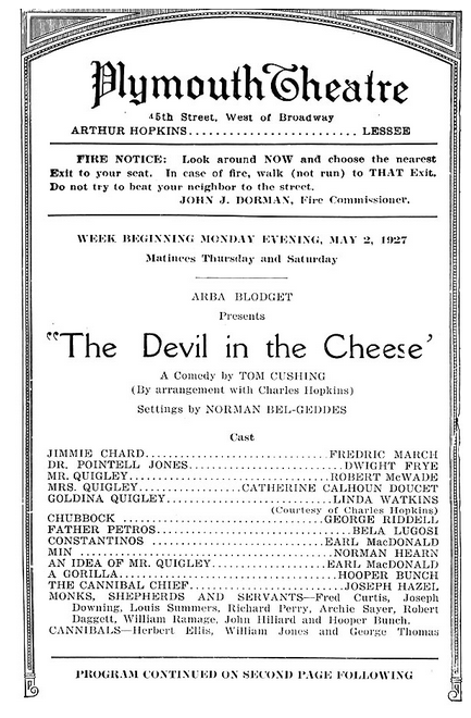The Devil in the Cheese 2