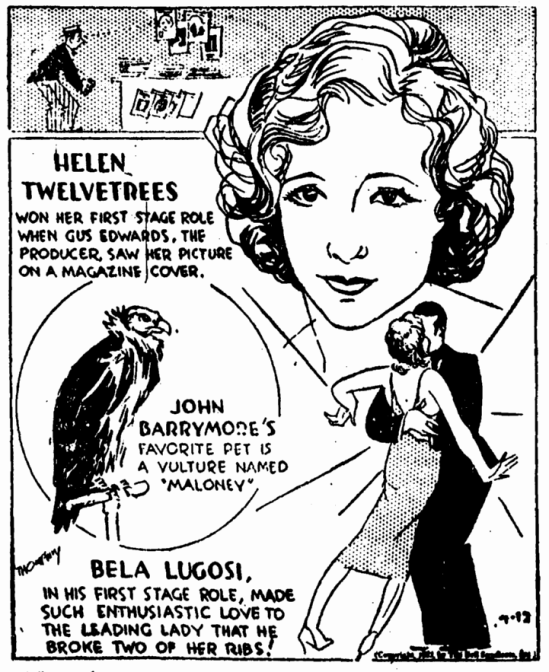 The Red Poppy, Evening Star, April 12, 1932