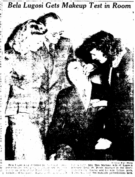 The Tell-Tale Heart, The Rockford Morning Stra, November 15, 1947 3