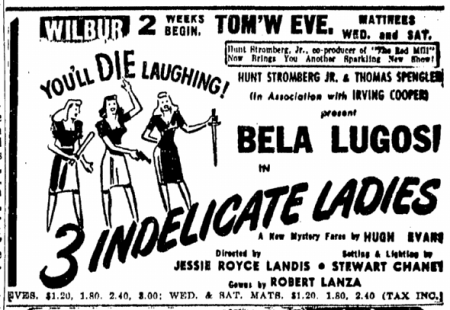 Three Indelicate Ladies, Boston Sunday Herald, April 13, 1947 2