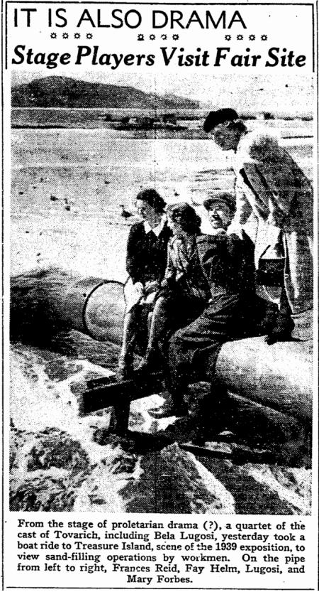 Tovarich, San Francisco Chronicle, April 14, 1937