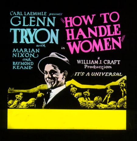 How To Handle Women (1928)