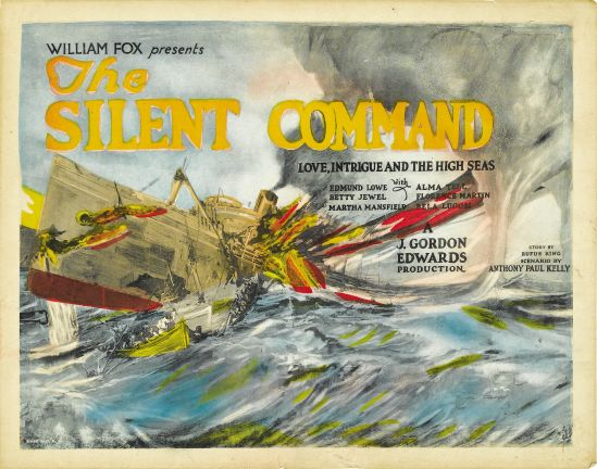 The Silent Command Lobby Title Card