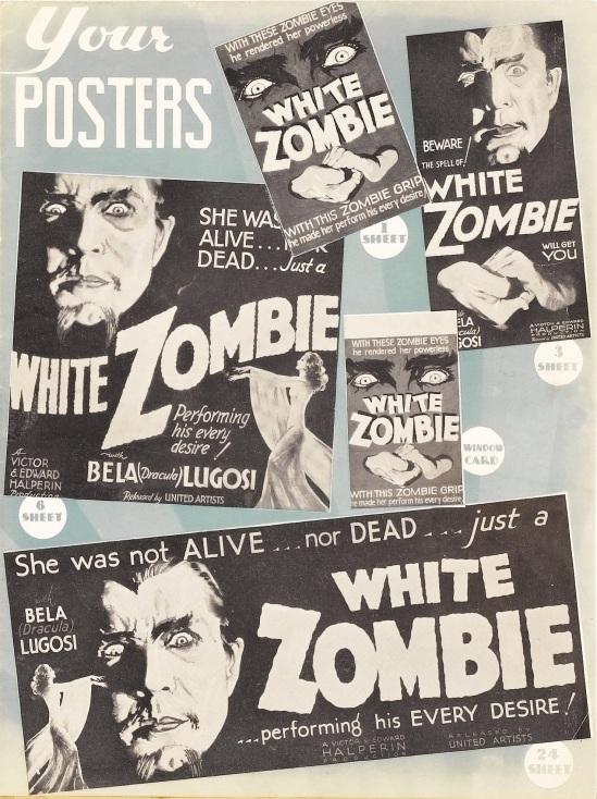 White Zombie Pressbook 3