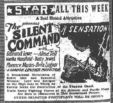 Silent Command American Newspaper Ad