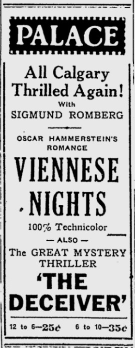 March 10, Calgary Herald, 1932