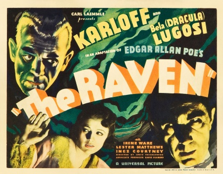 The Raven Title Lobby Card