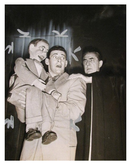 Bela with ventriloquist Paul Winchell