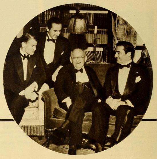 James Whale, Bela Lugosi, Carl Laemmle, Tom Mix
