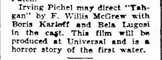 Yahgan, The Times-Picayune, June 15, 1934