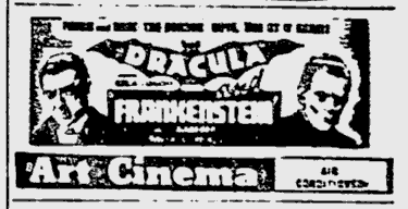 Dracula & Frankenstein, Pitsburgh Post-Gazette, July 8, 1947