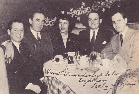 Alex, Bela, Lillian, Richard & William Everson