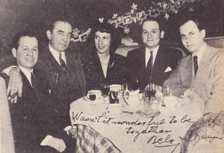Alex, Bela, Lillian, Richard & William Everson