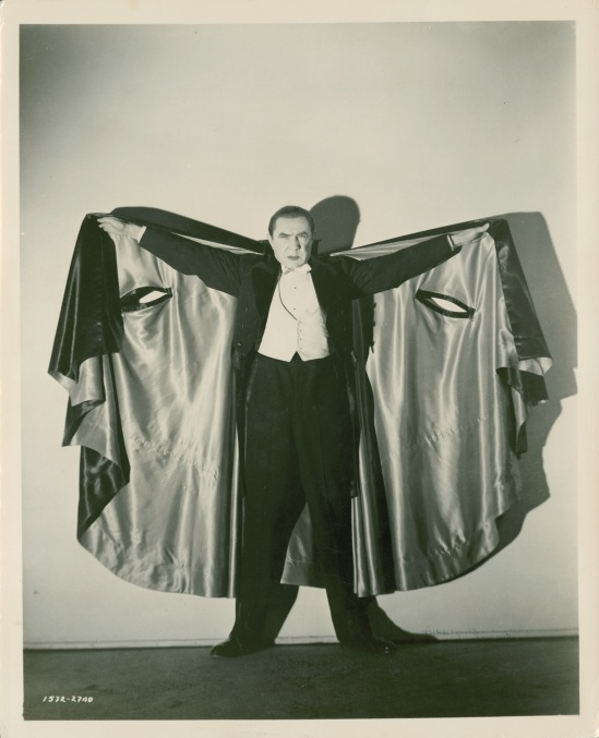 Bela as Dracula in Abbott & Costello Meet Frankenstein