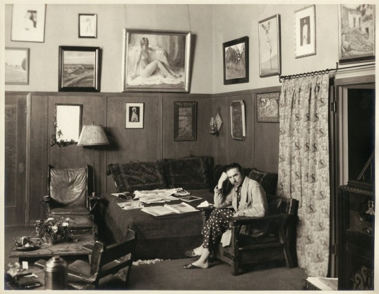 Bela & Clara Bow portrait