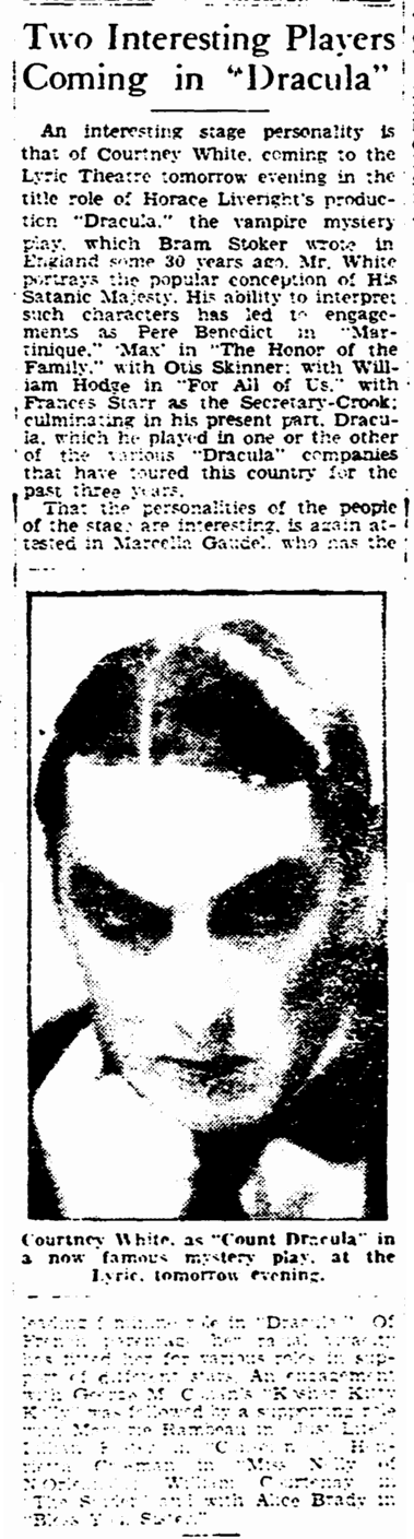 Courtney White, Boston Herald, January 11, 1931 2