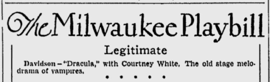 Courtney White Milwaukee Journal, November 23, 1930 (2)