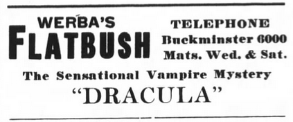 Raymond Huntley, Dracula, Brooklyn Life, February 23, 1929 2