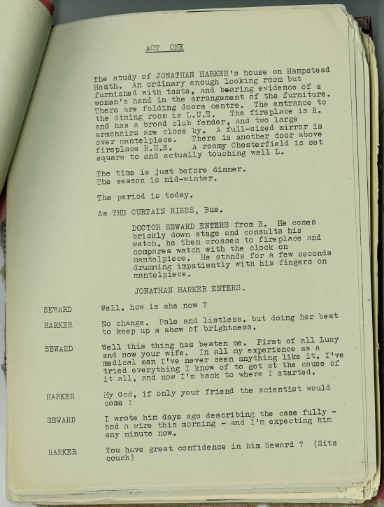 Dracula script 2