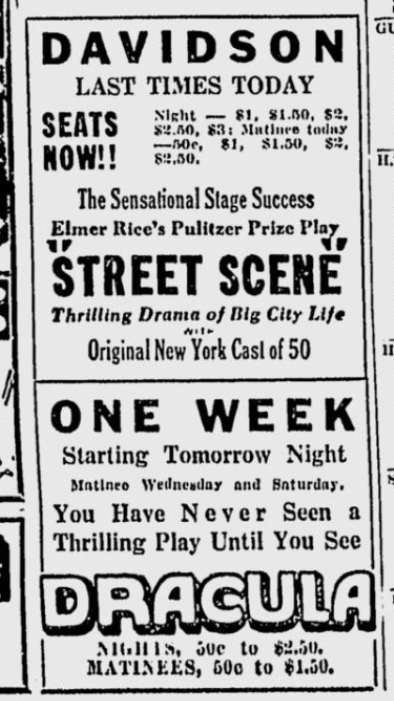 Milwaukee Sentinel April 5, 1930