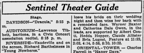 Milwaukee Sentinel April 8, 1930 c