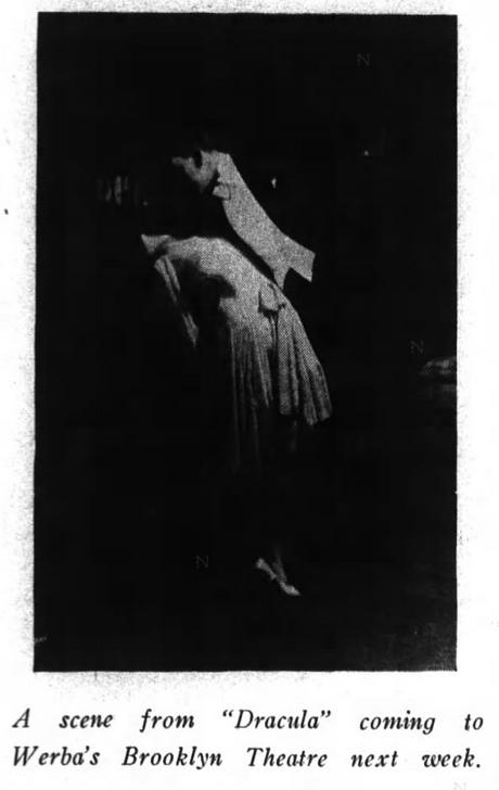 Raymond Huntley, Dracula, Brooklyn Life, October 26, 1929 2