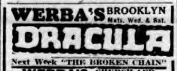 Raymond Huntley, Dracula, Standard Union, January 29, 1929
