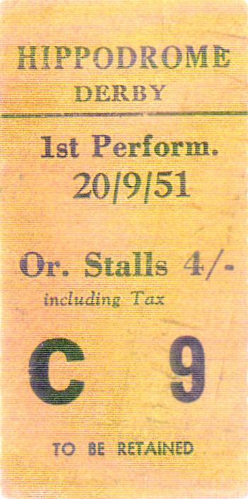 A Derby Ticket