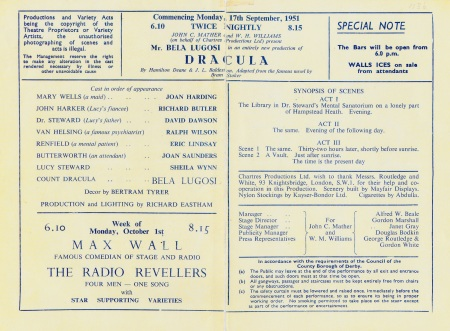 Derby Programme