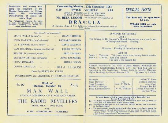 Derby Hippodrome Programme