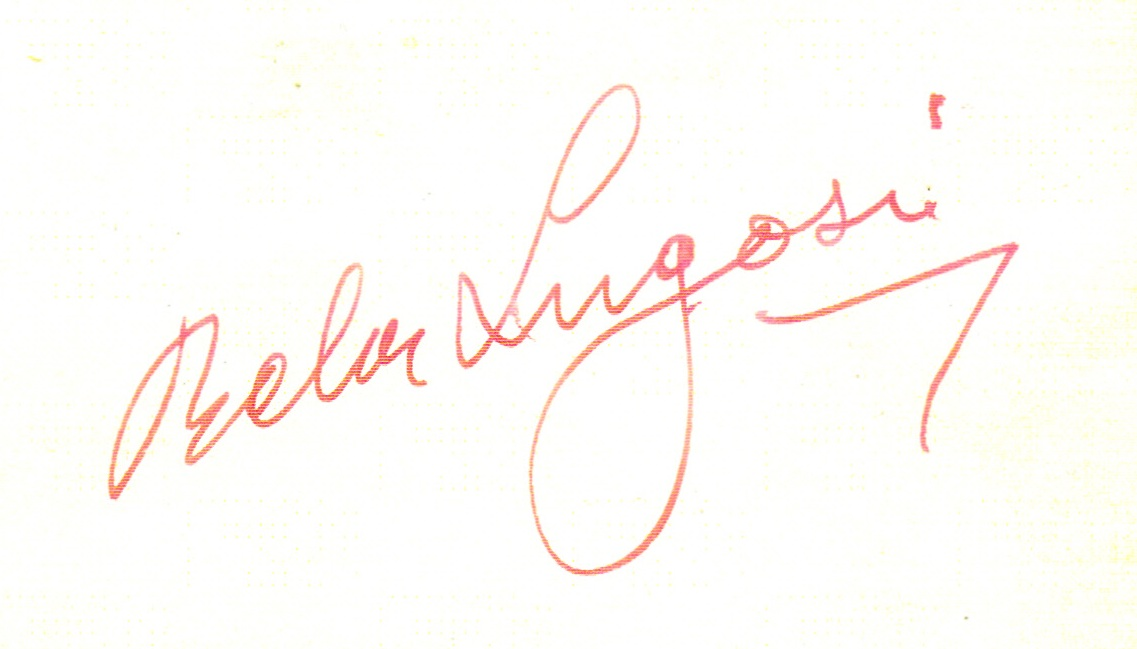 Derek's autograph