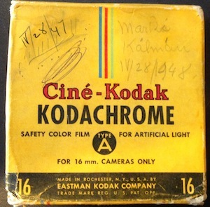 16MM Cine-Kodak Box