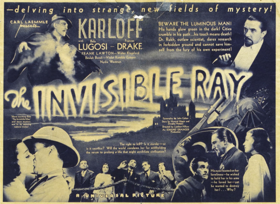 Invisible Ray herald