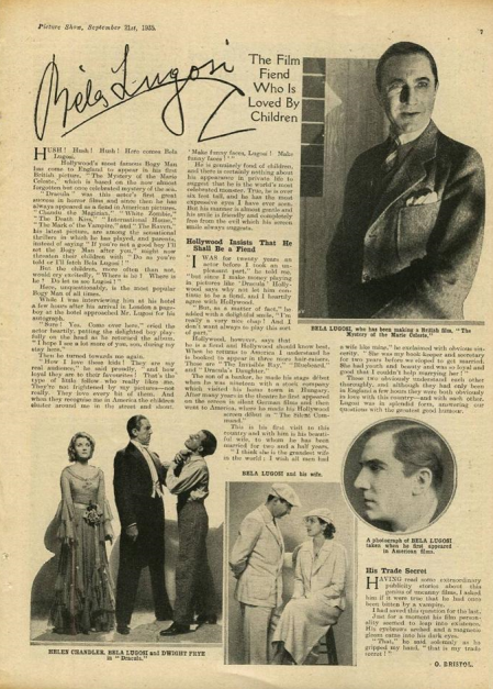 Picture Show, September 21st, 1935