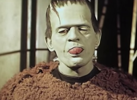 Son of Frankenstein Colour behind the scenes footage