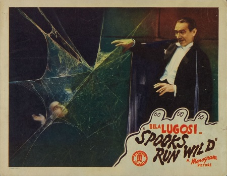 Spooks Run Wild Lobby Card 6