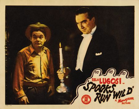 Spooks Run Wild Lobby Card