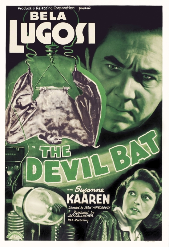 The Devil Bat one sheet poster