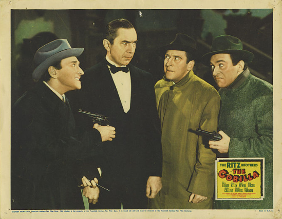 The Gorilla Lobby Card