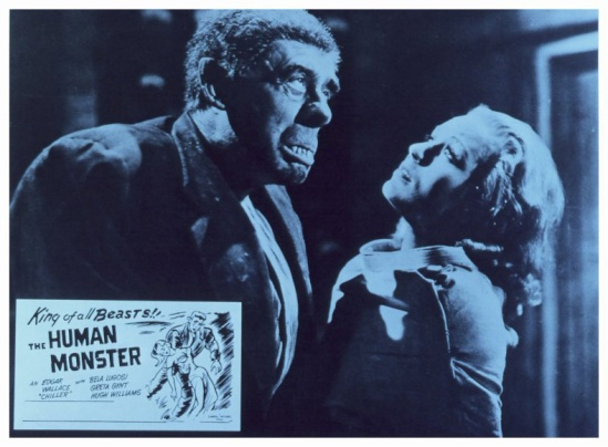 The Human Monster Lobby Card 10