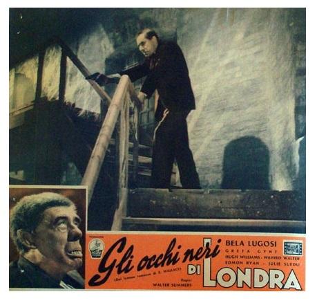 Dark Eyes Of London Italian Lobby Card 3