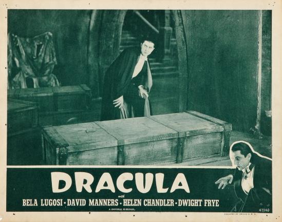 Dracula 1947 reissue lobby card 1