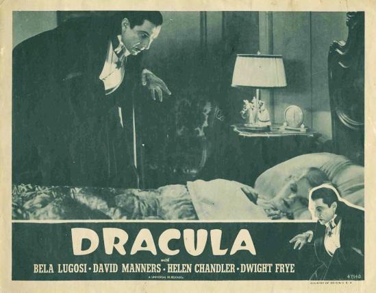 Dracula 1947 reissue lobby card 2