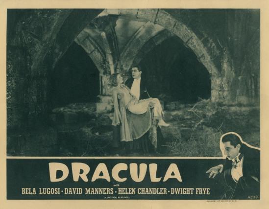 Dracula 1947 reissue lobby card 3