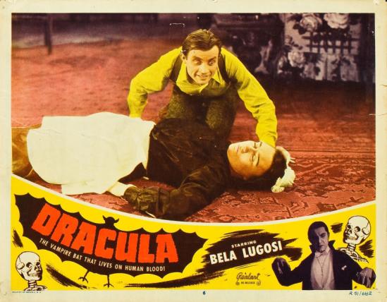 Dracula 1951 lobby card