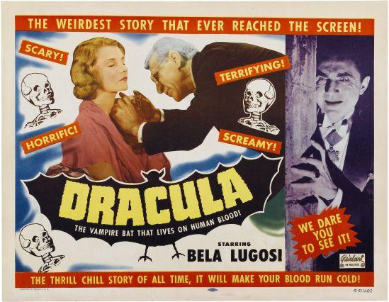 Dracula 1951 half sheet