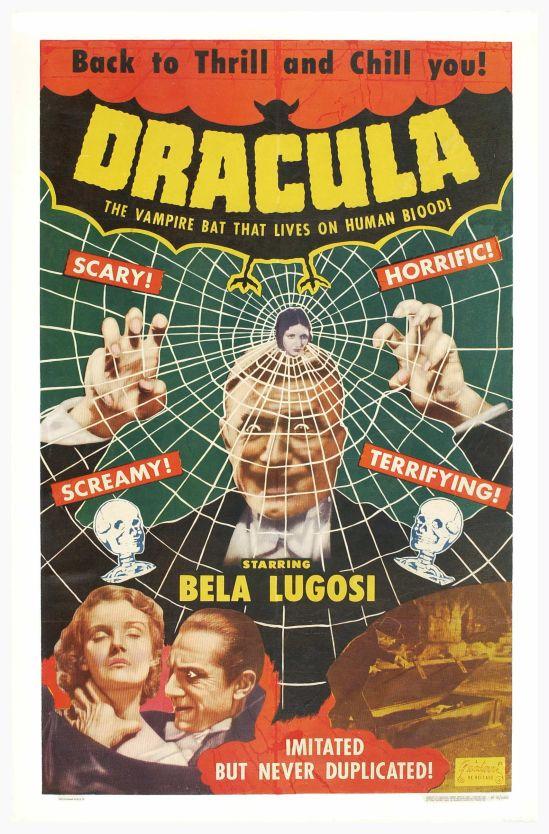 Dracula 1951 one sheet